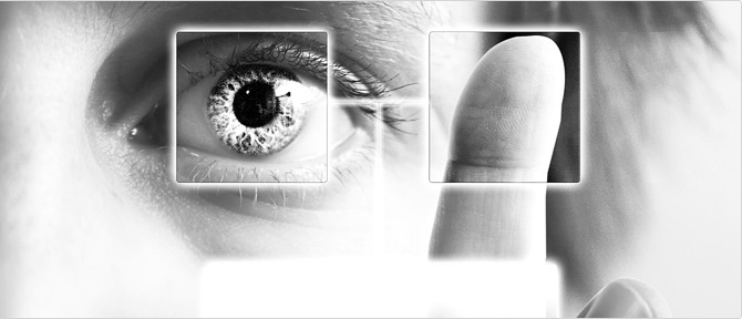 un oeil qui surveille